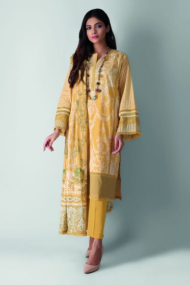 Full Suit in Beige Color - size 3PC