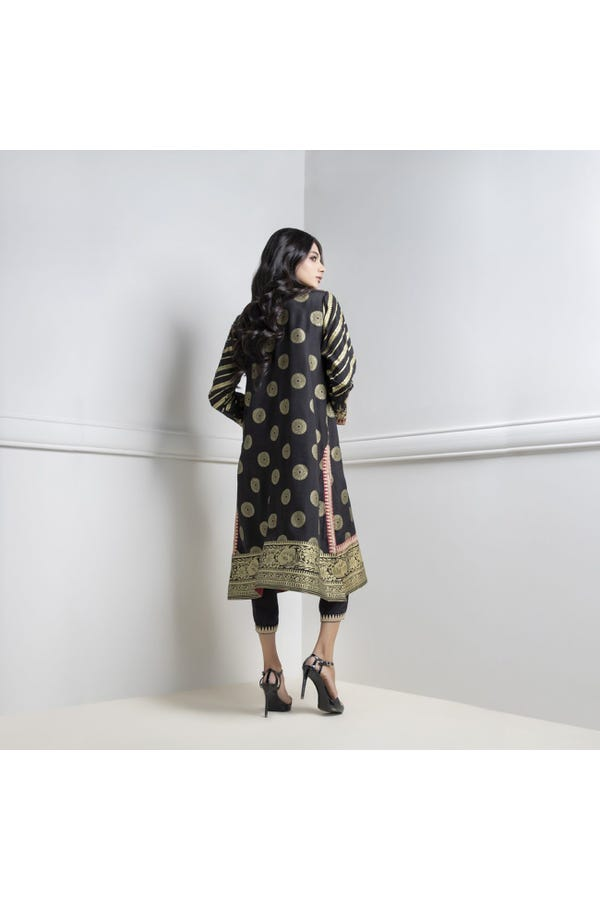 Embroidered Kurta paired with Pajama